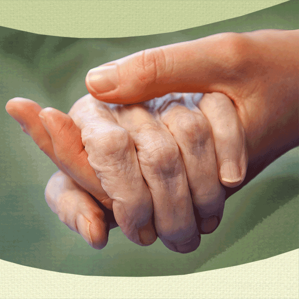 Caring hands at Caregivers of Land Park